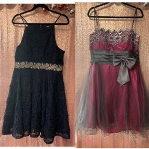 10 formal beautiful dresses (8homecoming 2 prom)